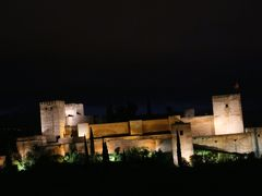 情熱のアンダルシア「祭り」を巡る旅(2)  グラナダ 「アルハンブラ宮殿」は夜景も内部もすごい