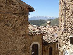 春の優雅なアブルッツォ州/モリーゼ州 古城と美しき村巡りの旅♪ Vol87(第4日) ☆Santo Stefano di Sessanio:美しき村「サント・ステファノ・ディ・セッサニオ」♪美しい旧市街は絵になる♪