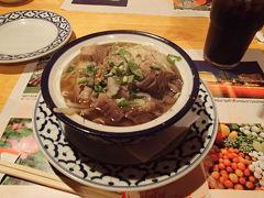 雨の中タイ料理を食べに所沢へ