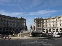 シルバーウィークにナポリ・ローマへ その17 帰国前のローマぶらぶら歩き編