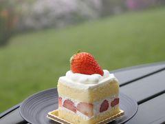 サロン・ド・テ・ロザージュ ☆ いちごのショートケーキを味わう