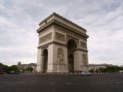 2017GW フランス旅行 パリ�モンマントル・パレ・ガルニエ・凱旋門