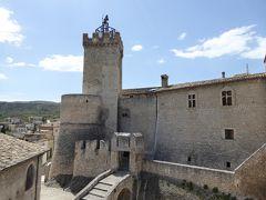 春の優雅なアブルッツォ州/モリーゼ州 古城と美しき村巡りの旅♪ Vol123(第5日) ☆Capestrano:美しき古城「カペストラーノ城」♪優雅に歩く♪
