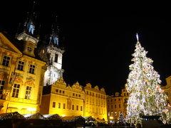クリスマスマーケットをめぐる鉄道1人旅《プラハ》
