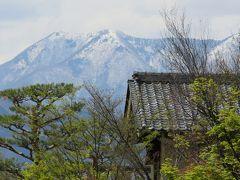 2017春、長野、群馬と栃木の名所巡り(2/26):4月25日(2):小布施(2):小布施の歴史的町並み、春の花々