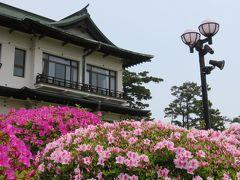 2017春、蒲郡と浜松の花巡り(3/16):5月1日(3):蒲郡(3):蒲郡クラシックホテル、ほぼ満開のツツジ、竹島の眺望