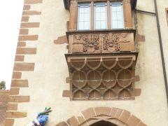 ドイツの秋:③ビューディンゲンの蛙(蛙戦争)で知られた古城ホテル ビューディンゲン城