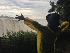 ちょこっと南部アフリカ いいとこ取りの旅5 ヴィクトリアの滝(ジンバブエ側)編