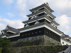 築城の名手藤堂高虎が縄張りした大洲城登城