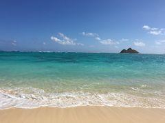 2016ハワイ旅行記 2日目 (ラニカイビーチ・ウルフギャング)
