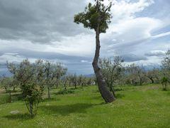 春の優雅なアブルッツォ州/モリーゼ州 古城と美しき村巡りの旅♪ Vol152(第6日) ☆Civitella Casanova:ミシュラン1星リストランテ「La Bandiera」庭園やオリーブ畑は美しい♪