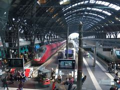 フェラーリデザインのイタロに乗って、ミラノセントラル駅からローマテルミニ駅へ 2017年6月