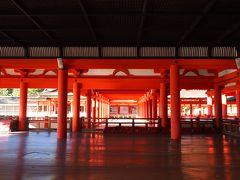 母と行く、初夏の広島2泊3日の旅⑤ ~大潮と重なった安芸の宮島で干潮と満潮&ナイトクルーズを楽しむ~