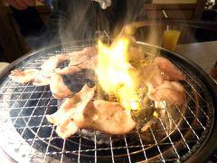 09.年度替わりの鎌倉1泊 赤から三島店の夕食