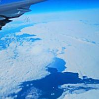ロシア横断上空 LH0717便 シベリア・氷海を超えて ☆フランクフルトへ向け