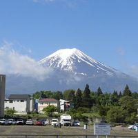 2017春 富士山:25年ぶりの富士登山 山開き前なので一合目から六合目まで