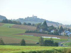 ドイツの秋:④ビューディンゲン城の姉妹城・ロンネブルク城には孔雀がいた