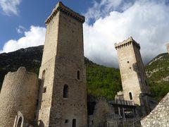 春の優雅なアブルッツォ州/モリーゼ州 古城と美しき村巡りの旅♪ Vol221(第8日) ☆Pacentro:パチェントロ城「Castello del Cantelmo-Caidora」パノラマを眺めて♪
