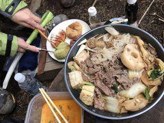 北八ヶ岳 にゅう・高見石トレッキング ~給食当番 すき焼きを作るの巻~