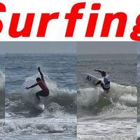 千葉県・一宮町 釣ケ崎海岸での国際サーフィン大会を見学