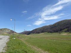 春の優雅なアブルッツォ州/モリーゼ州 古城と美しき村巡りの旅♪ Vol266(第10日) ☆Scannoから素晴らしい山岳風景の中をOpiへ♪峠「Montagnola」で休憩♪