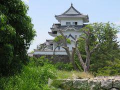 2017初夏、日本百名城の伊賀上野城(2/10):6月3日(2):上野公園、城代役所址、発掘調査後に記された間取と名称
