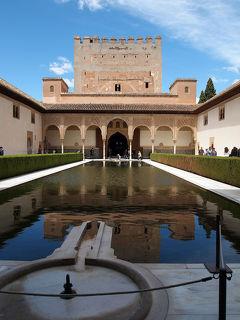 2012年GW④スペイン&ロンドン8日間の旅☆4日目~グラナダ アルハンブラ宮殿 ACパラシオ デ サンタ ポーラに滞在