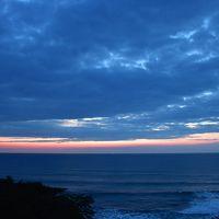朝日に輝く太平洋が一望できリゾート気分の国民宿舎「鵜の岬」(茨城)