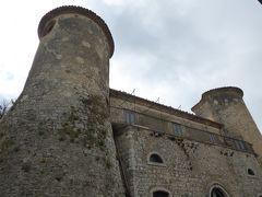 春の優雅なアブルッツォ州/モリーゼ州 古城と美しき村巡りの旅♪ Vol301(第11日) ☆Torella del Sannio:トレッラ・デル・サンニオ城「Castello Ciamarra」優雅に鑑賞♪