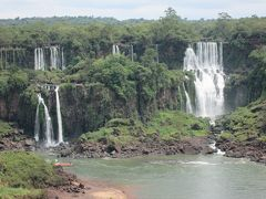 ブラジル 「行った所・見た所」 フォス・ド・イグアス市街と宿泊したホテルタロバ