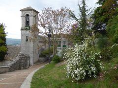 春の優雅なアブルッツォ州/モリーゼ州 古城と美しき村巡りの旅♪ Vol320(第11日) ☆Campobasso:カンポバッソ城「Castello Monforte」への塔と周囲の風景を眺めて♪