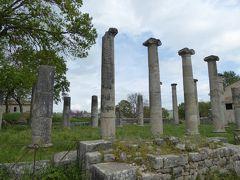 春の優雅なアブルッツォ州/モリーゼ州 古城と美しき村巡りの旅♪ Vol331(第12日) ☆Saepinum:古代ローマ遺跡の村「サエピヌム」優雅に歩く♪