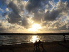 灼熱と豪雨、そして笑顔のスリランカ(15) ゴール・フェイス・グリーンの夕日とスリランカの旅の終わり