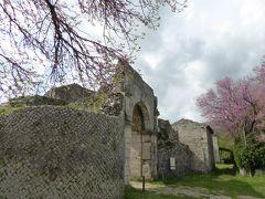 春の優雅なアブルッツォ州/モリーゼ州 古城と美しき村巡りの旅♪ Vol339(第12日) ☆Saepinum:古代ローマ遺跡の村「サエピヌム」美しい城壁と古代遺跡を眺めて♪