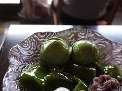 抹茶スイーツで始まる夏 京都で生茶ゼリイと花菖蒲と宇治抹茶のかき氷