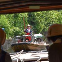 水郷をサッパ舟でゆく加藤洲十二橋と潮来・佐原の花菖蒲 2017(千葉茨城)