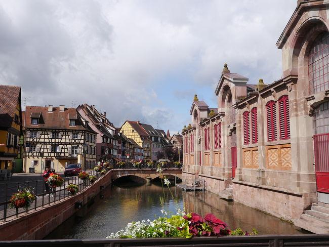 パリ、TGVでストラスブール、コルマール 一部ドイツkehlの旅 2