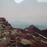1989年(平成元年)5月 五丈岩の金峰山(2597m) 岩峰の瑞牆山(2230m)登山とラジウム泉の増富温泉に入浴します。