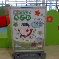 利尻・礼文島 花花ハイキング4日間(01) 伊丹空港で昼食。