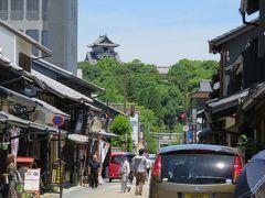 2017初夏、日本百名城の犬山城(1/8):6月9日(1):犬山城下町(1):名古屋市地下鉄から名鉄に乗り継いで犬山へ