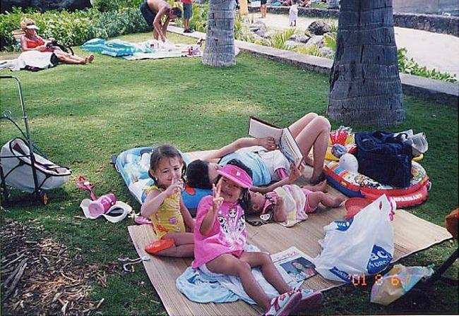 長女3歳、次女0歳と友人母子で1ヶ月のホテル暮らし。