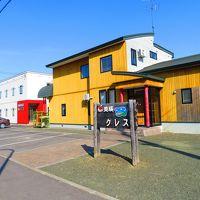 【宿泊レポ☆43】 GWの道南~道央FLY&DRIVE 5日目-4:今回の旅行で唯一の美瑛駅近の民宿クレスは真新しいきれいな宿でした