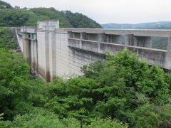2017初夏、ダムの内部見学(1/5):6月11日(1):小里川ダム(1):名古屋駅からバスで山岡へ、小里川ダム