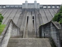 2017初夏、ダムの内部見学(3/5):6月11日(3):小里川ダム(3):小里川ダムの内部見学、人造湖のおりがわ湖