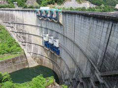 2017初夏、ダムの内部見学(4/5):6月11日(4):矢作ダム:ダムの内部見学、アーチ式コンクリートダム、道の駅・いなぶへ