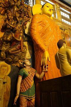 灼熱のスリランカ(31)ガンガマーラとシーマ・マラカヤ寺院で旅の無事を感謝し、ミニストリー・オブ・クラブのランチを楽しみ帰国の途につく。