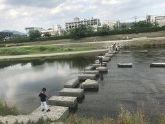 京都日帰り旅♩飛び石はピョンピョンしたい!