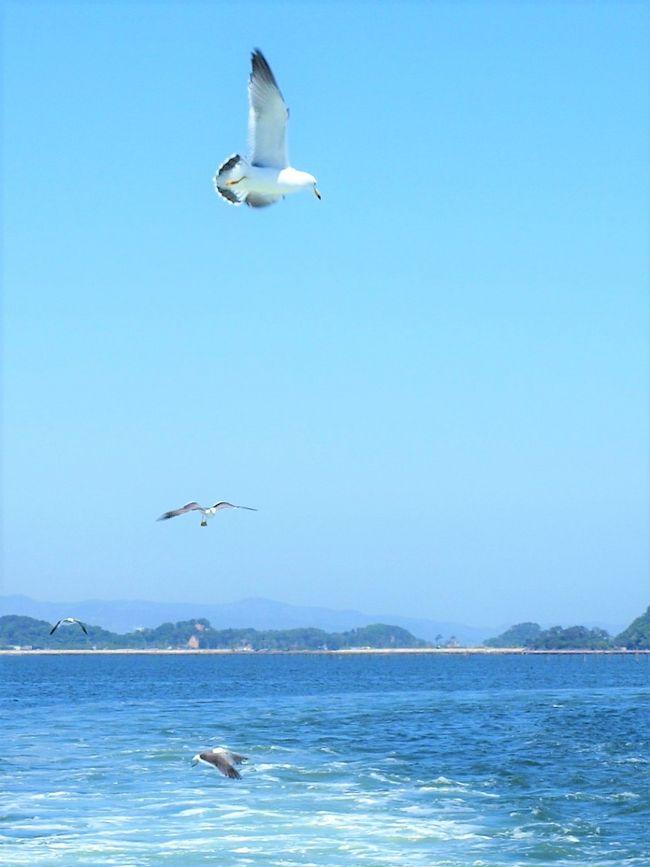 ゴールデンウイークも過ぎ、気候的にも安定してきたので、久しぶりの松島まで足を延ばすことにしました。天候にも恵まれた朝、清々ししい気持ちでハンドルを握りました。北陸道から磐越道、そして東北道で仙台方面に・・・・。スムーズに走行でき午前中に松島の駐車場に到着しました。瑞巌寺(  http://www.zuiganji.or.jp/  )参拝後、観光船(   http://www.matsushima.or.jp/access.html )で松島湾を楽しみました。その後三井アウトレットパーク( http://www.31op.com/sendai/  )で昼食、宿泊地である福島飯坂温泉(  http://hanataki.net/  )に向かいました。<br /> 二日目、帰路に向かう途中、安達太良サービスエリア(  http://www.driveplaza.com/sapa/1040/1040176/1/ )で休憩時、案内所のパンフレットで「いわき」のがあり、見ていたら「競争馬総合研究所」(競走馬リハビリテーションセンター  https://www.fukulabo.net/shop/shop.shtml?s=4805 )の存在を知り、急遽いわき方面に進みました。高速を降り競走馬研究所に行き、見学をさせてもらいました。近くに「スパリゾートハワイアンズ」(  http://www.hawaiians.co.jp/   )があるので、立ち寄り帰路につきました。