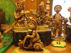 【2】晴天のローマ、定番観光地をブラブラ散策♪ピノキオ専門店で可愛いお土産♪