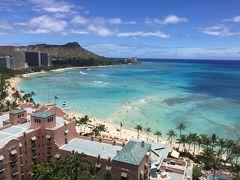 4度目ハワイ2017優雅に女子旅1日目~初めてのオーシャンフロントに感激